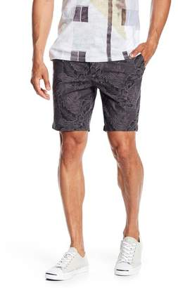 Slate & Stone Tropical Floral Print Shorts