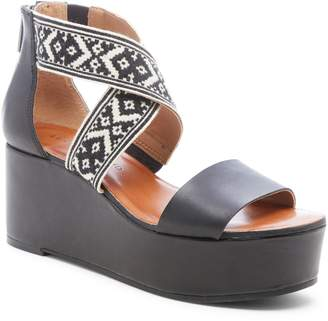 Lucky Brand Gwindolin Platform Wedge Sandal