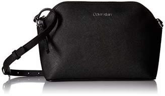 Calvin Klein Mercy Signature Key Item Top Zip Crossbody Purse