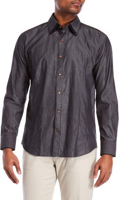 Bogosse Dries Grey Sport Shirt