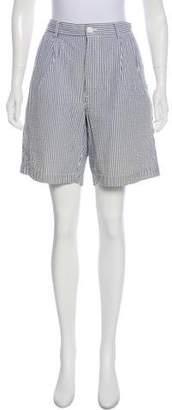 Brooks Brothers Seersucker Knee-Length Shorts