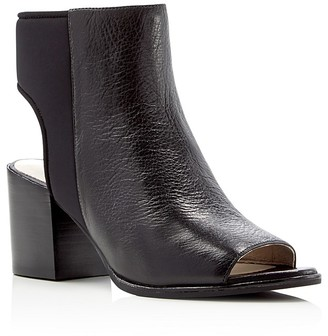 Kenneth Cole Charlo Open Toe Booties $180 thestylecure.com