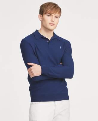 Ralph Lauren Merino-Silk-Cashmere Sweater