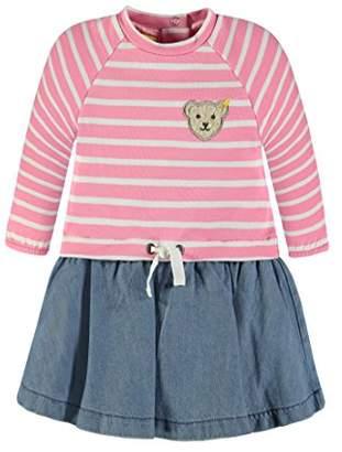 Steiff Girl's Kleid 1/1 Arm 6833138 Dress,3-6 Months