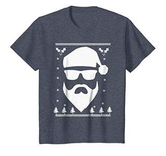 Cool Hip Funny Sunglass Wearing Santa Tee Shirt