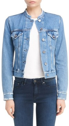 Women's Acne Studios Denim Jacket $400 thestylecure.com