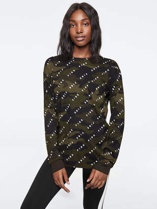 Victoria's Secret Victorias Secret Bling Long Sleeve Campus Tee