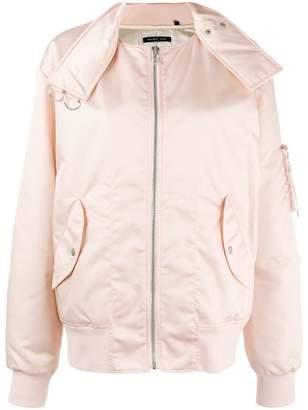 Helmut Lang zipped puffer jacket