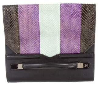 J. Mendel Snakeskin & Leather Bag