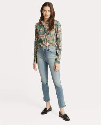 Ralph Lauren Floral-Print Button-Down Shirt