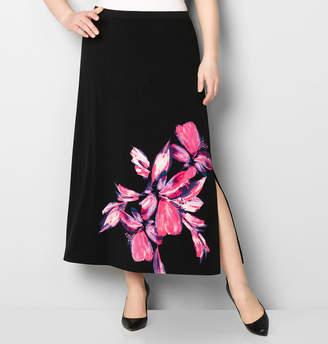 Avenue Large Floral Maxi Skirt