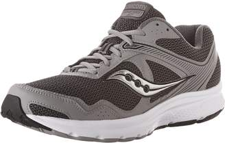 Saucony Men's Cohesion 10 Running Shoes, Grey/Silver