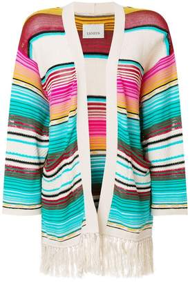 Laneus Mexico stripe cardigan