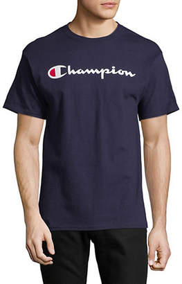 Champion Logo Short-Sleeve T-Shirt