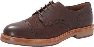 Brunello Cucinelli Leather Cap Toe Shoe