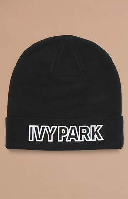 Ivy Park Embroidered Patch Beanie
