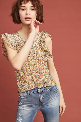 Ranna Gill Delancey Floral Blouse