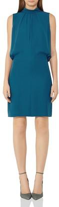 REISS Leonie Tie-Neck Dress $320 thestylecure.com