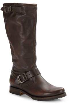 Calfskin Motorcycle Boots $368 thestylecure.com