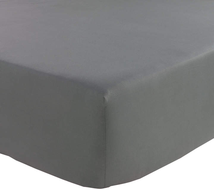 Olivier Desforges - Alcove Fitted Sheet - Slate - Single