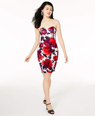 B. Darlin Juniors' Sweetheart Bodycon Dress