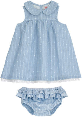 Cath Kidston Baby Broderie Anglaise Dress And Brief