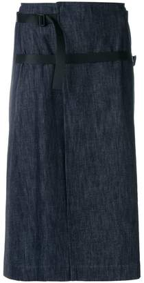 Tomas Maier light denim skirt