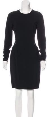 Michael Kors Lace-Accented Sheath Dress
