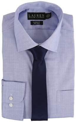 Lauren Ralph Lauren Pinpoint Spread Collar Classic Button Down Shirt Men's Long Sleeve Button Up