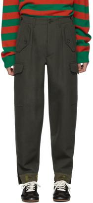 Loewe Green Pocket Cargo Pants