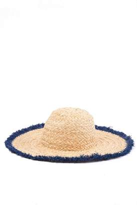 35de1f54bd1ff Roffe Accessories Raw Edge Paper Straw Floppy Hat. Nordstrom ...