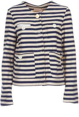 Semi-Couture Erika Cavallini Striped Jacket