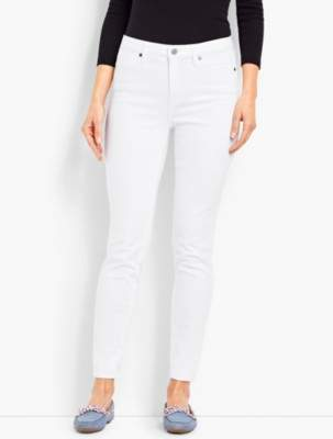 Talbots Denim Jeggings - White
