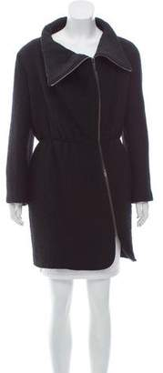 Nina Ricci Padded Wool Coat