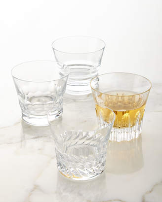 Baccarat Dallas Assorted Double Old-Fashioneds, Set of 4