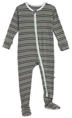 Kickee Pants Stripe Footie