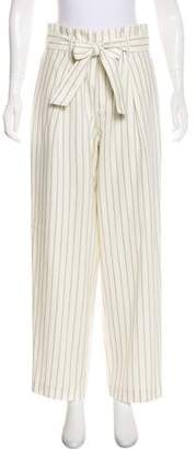 TOMORROWLAND High-Rise Striped Pants w/ Tags