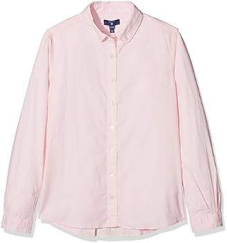 Gant Girl's Oxford Shirt Blouse,(Manufacturer Size: 134/140)