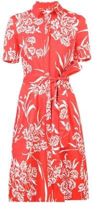 Carolina Herrera floral shirt dress