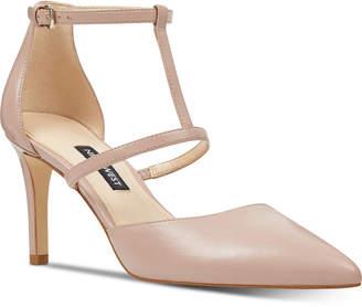 Nine West Cintia T-Strap Pumps Women Shoes
