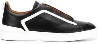 Ermenegildo Zegna XXX contrast stripe sneakers