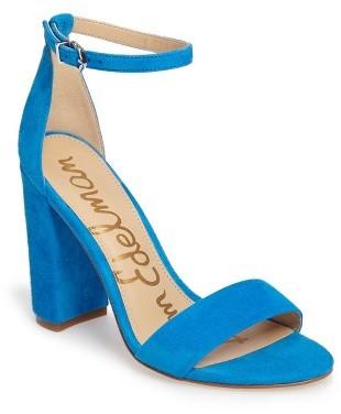 Women's Sam Edelman Yaro Ankle Strap Sandal $119.95 thestylecure.com