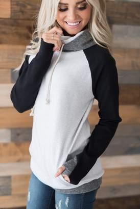 Ampersand Avenue DoubleHood Sweatshirt - Monochrome