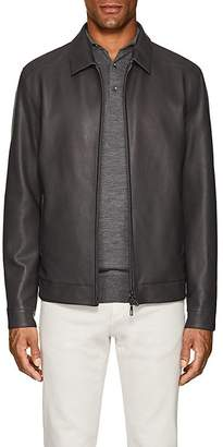Loro Piana Men's Citytime Reversible Bomber Jacket