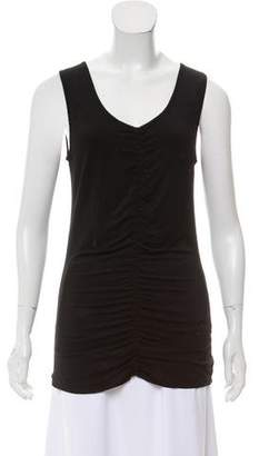 Burberry Sleeveless Gathered Top w/ Tags