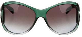 Jimmy ChooJimmy Choo Georgie Logo-Embellished Sunglasses