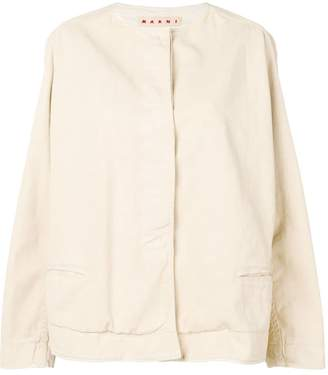 Marni round neck jacket