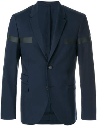 Neil Barrett block stripe blazer