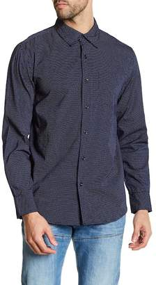 Joe Fresh Microdot Standard Fit Button Down Shirt