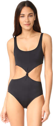 Solid & Striped The Bailey Knot Front One Piece